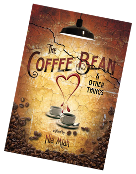 book cover the coffee bean and other things by author nia miah.png
