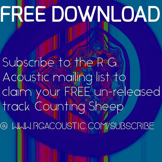 FREE STUFF  Lets not forget when you subscribe you get all the latest news and excitement before anyone else from R G Acoustic!  #free #freestufffinder #subscribe #subscription #newsong #download #freedownload #RGA #rgacoustic #countingsheep #promotion #newsletter #fans #marketing #unsignedartist #independent #newmusicalert #guitar #malesingers