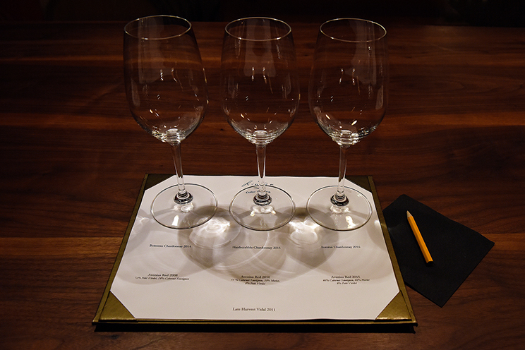 A Special Cellar Tasting in January 2019.