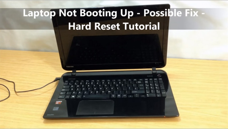 Laptop Not Booting up – Hard Reset – Possible Fix — HealMyTech
