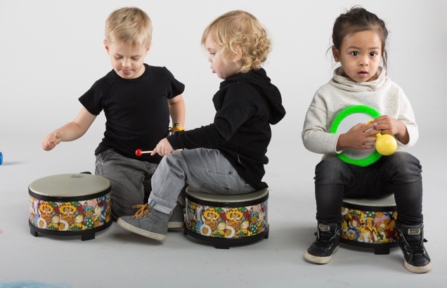 Bumblebeats - AGES 2 - 3In Bumblebeats, you and your toddler will experiment and jam with percussion instruments from around the world in this hands-on class that helps develop rhythm, self-expression, and motor skills. This class is a great follow-up to Music Together®, but no experience is necessary. Parent/caregiver attendance is required in class.