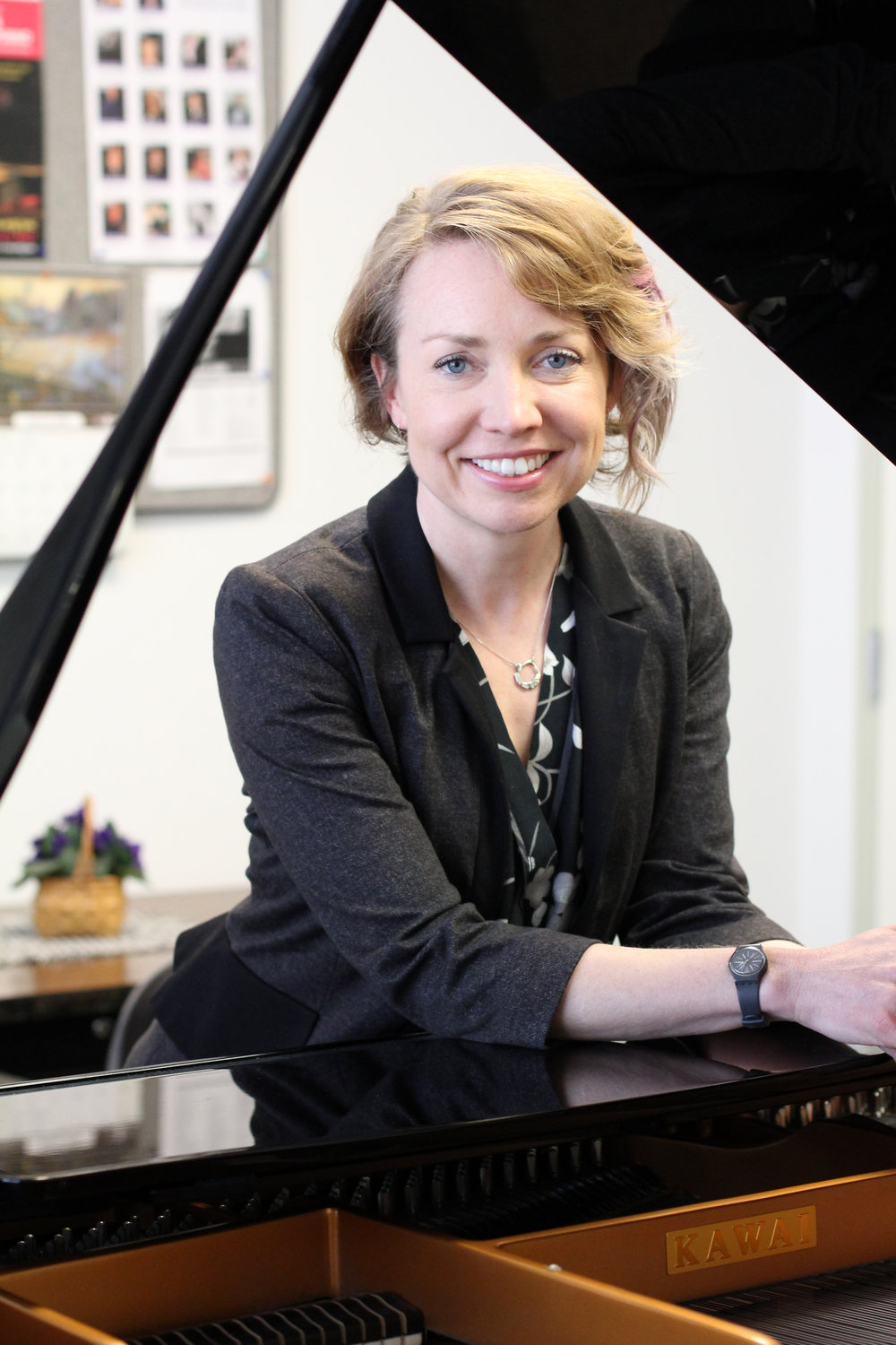 Aubrey Faith-Slaker - PIANO, SUZUKI PIANOPianist Aubrey Faith-Slaker is an established and dedicated music educator in the Chicagoland area, teaching students ages 3 and up in English and in Spanish using both Suzuki and Traditional Philosophies. She has maintained a flourishing piano studio in Texas, Wyoming, Colorado, and currently Chicago, teaching piano, music history, music theory and piano pedagogy to students of all ages. Aubrey also works mentoring new teachers in piano pedagogy practices, pursuing further education and starting their own businesses. Aubrey teaches Masterclasses in Chicago and Latin America, is part of the Suzuki Association, is MTNA certified, and is steadily working on completing her studies towards becoming a Suzuki teacher trainer.