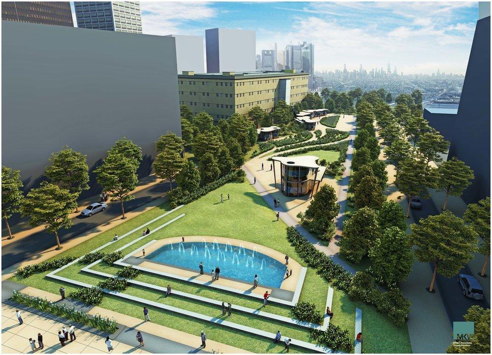 triangle park -