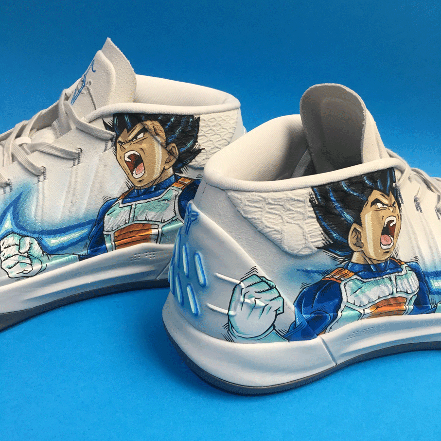 "Nike Kobe AD. ""Vegeta"" para Sergio Llull."