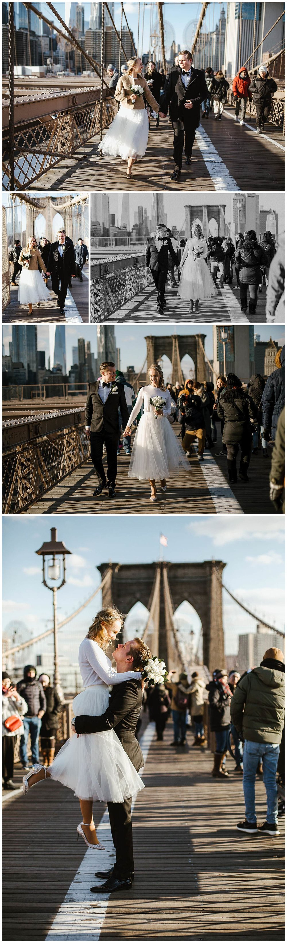 Brautpaar-auf-der-Brooklyn-Bridge-New-York