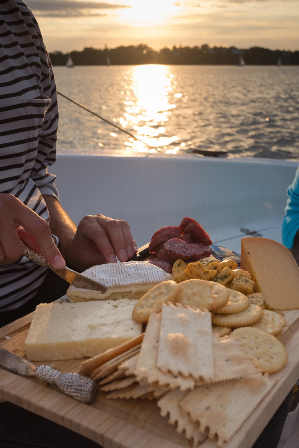 Sailing with a Charcutterie Board.jpg