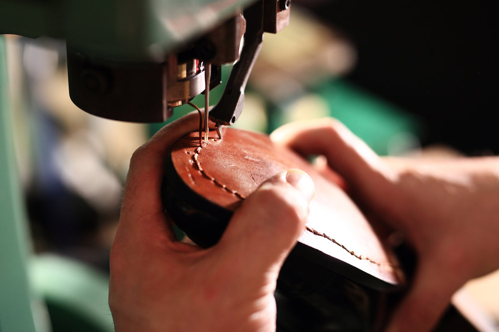 We offer boot and shoe repair in store as well! Check the price list for our rates!