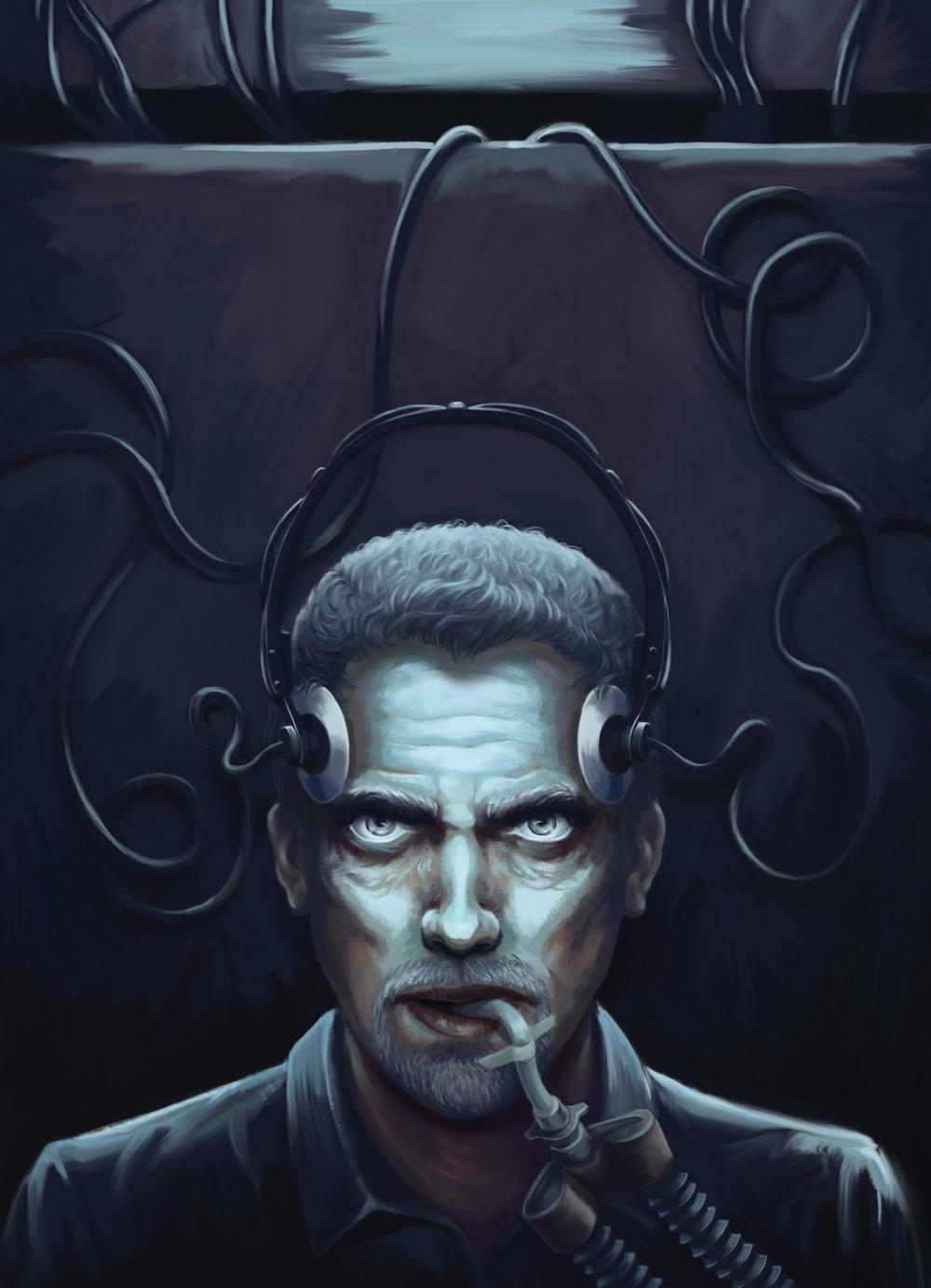 Dr. Karl Hoffman  - Illustration by  Rebecca Loomis