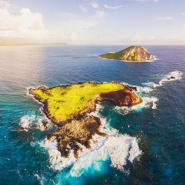 Some islands for your eyeballs. ・・・⠀ ⠀  Phantom 4 Pro | Tiffen CPL Filter