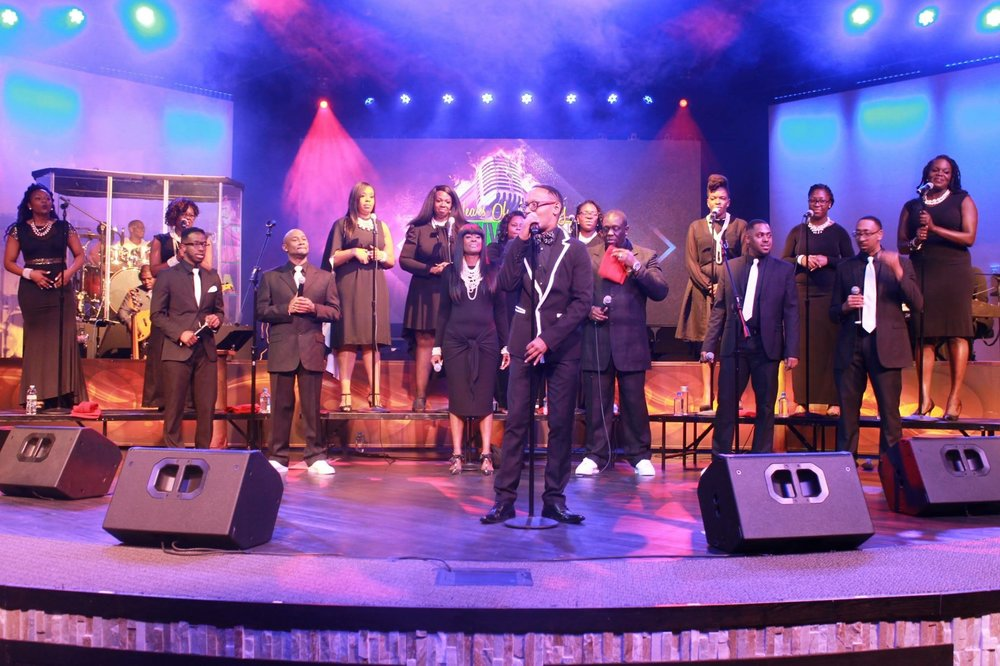 Timothy Martin and Greatness is a contemporary gospel group gifted in lifting your spirits and warming your heart. Greatness is a beautiful blend of over a dozen voices that sing a range of inspirational, gospel standards, and contemporary gospel music.
