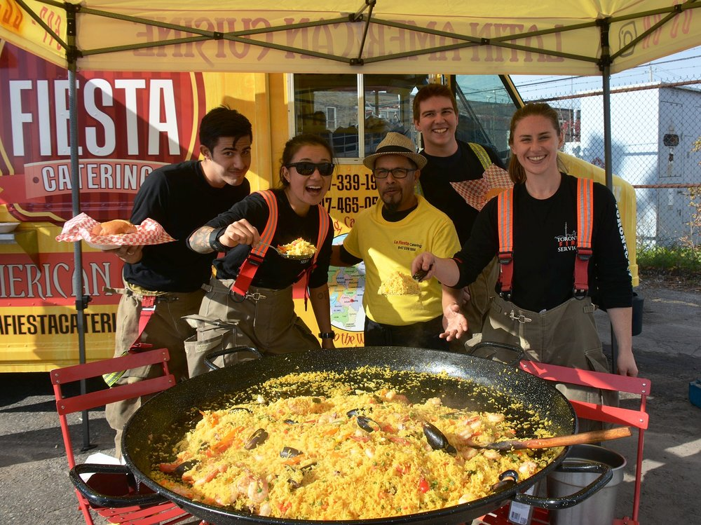 THE ONLY CATERER OFFERING ON-SITE PAELLA MAKING IN TORONTO!