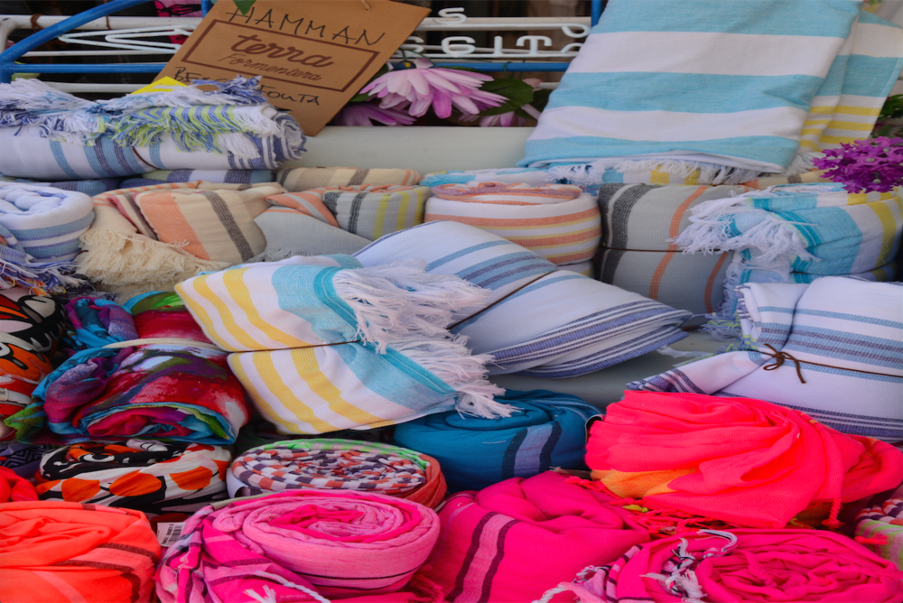 Beach towels and wraps from Terra.