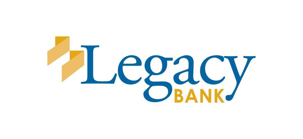 Legacy Bank final brand identity design