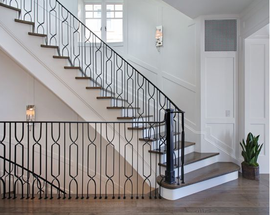 Custom Modern Staircase Railing in Orange County, California