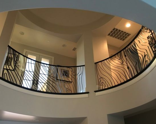 Custom Modern Railing in Orange County, California