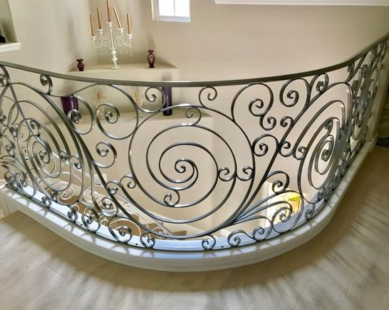 Custom, Hand Forged Ornate Designed Balconies and Railings in Orange County, California