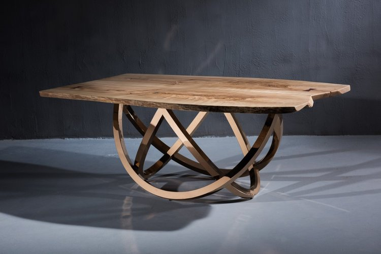 Custom Tables and Art designed by Naddours Custom Metalworks