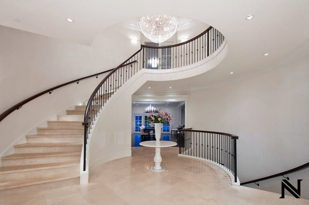 Custom Custom Modern Stair Railing in Beverly Hills, California