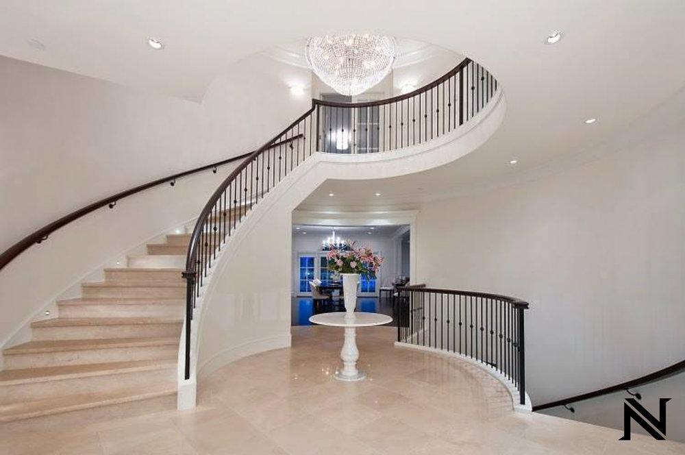 Custom Custom Modern Stair Railing in Beverly Hills, California
