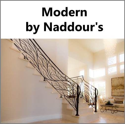 Modern Custom Designs Naddour's Custom Metalworks Hand Forged Designs Serving Orange County, Los Angeles County, San Diego, and Northern California