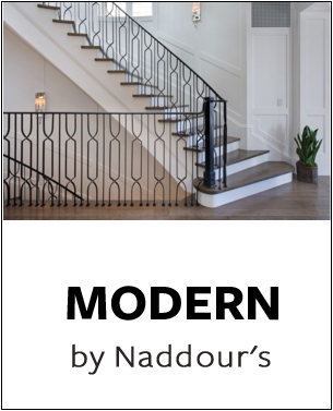 Modern Collection by Naddour's Custom Metalworks Staircase Railings Balcony Railings Driveway & Pedestrian Gates Gazebos & Trellises