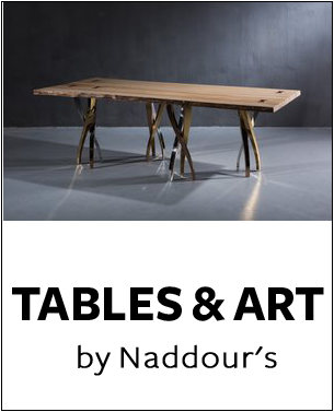 Tables & Art Collection by Naddour's Custom Metalworks