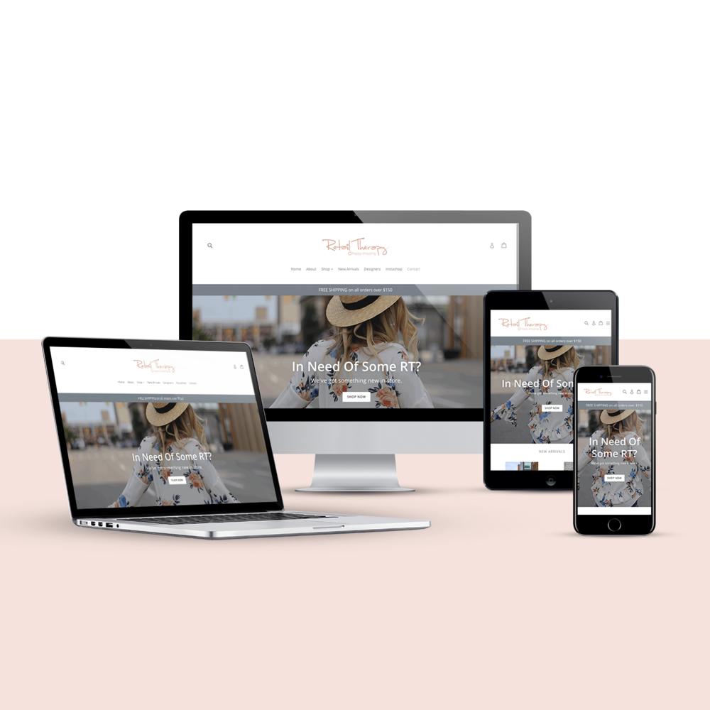 New website design via Shopify     Visit Website