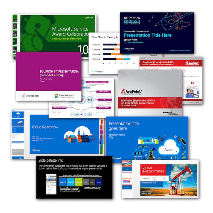 PowerPoint slide decks