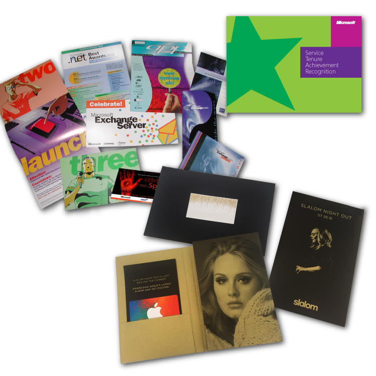 Special promotional items