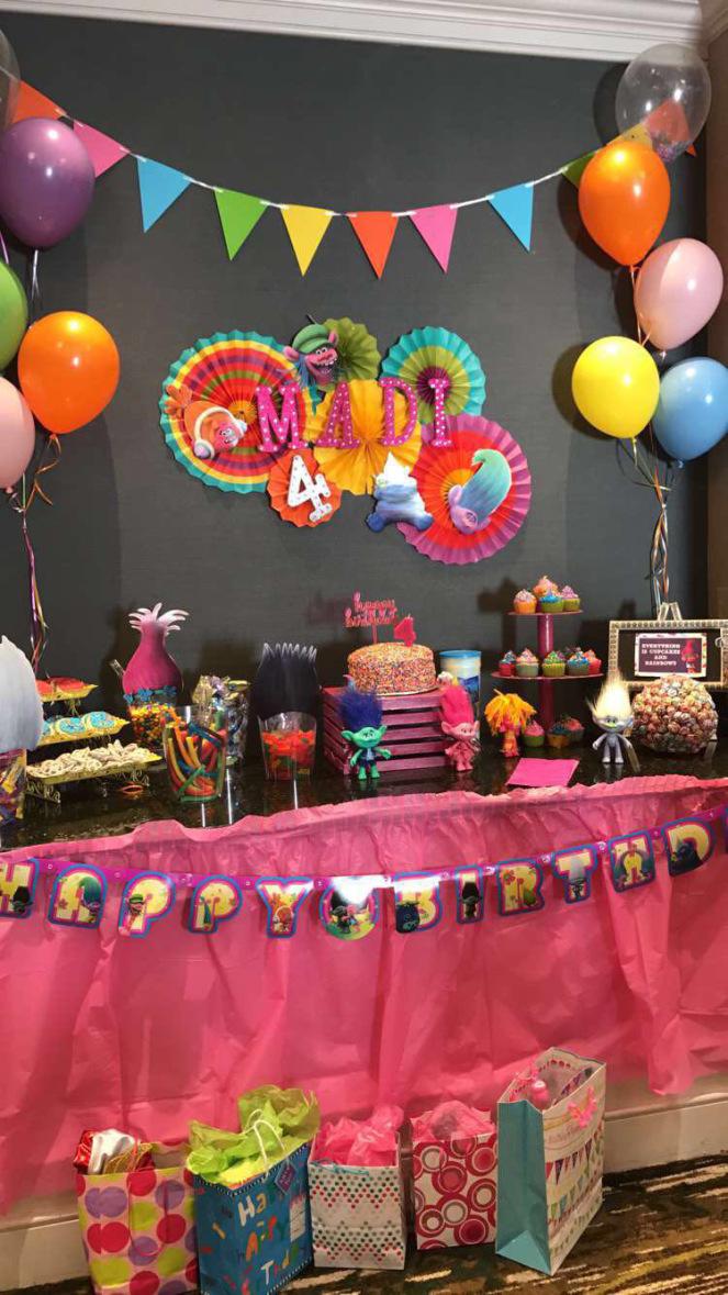 DIY Trolls Themed Birthday Party Miri Makes It Happen