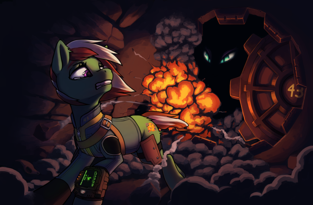 Click the Pony Explosion above to read all of Fiaura's Fim Fiction!