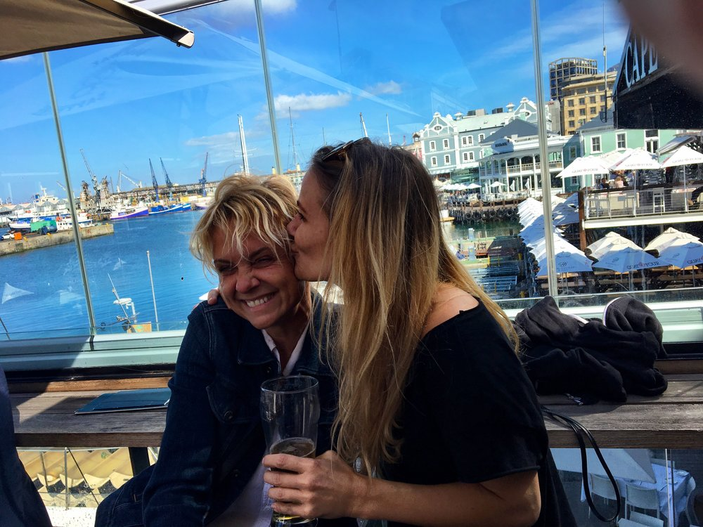 So fun to meet my friend Daniela in Cape Town!