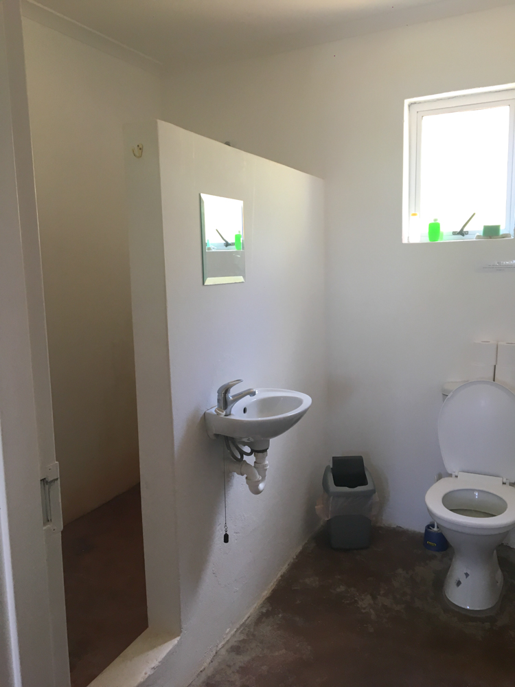 Everyone has their own private bathroom.