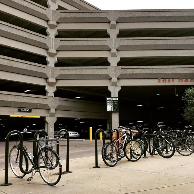 Never pay for parking. #bikesomewhere like Cherry Creek Mall.