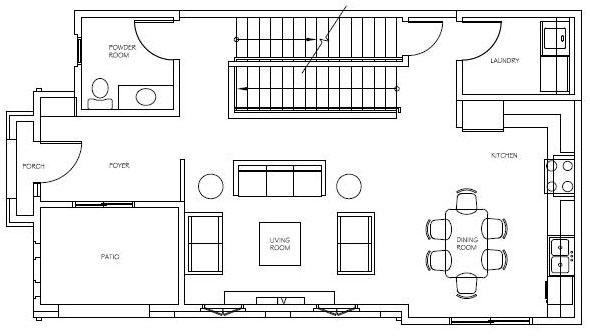 Unit 1 Floor 1
