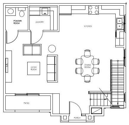 Unit 3, 7, 11 Floor 1