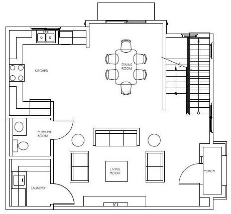 Unit 8, 12, 16 Floor 1