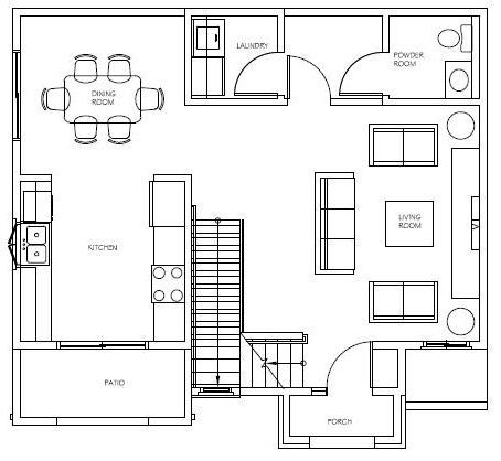 Unit 5 Floor 1