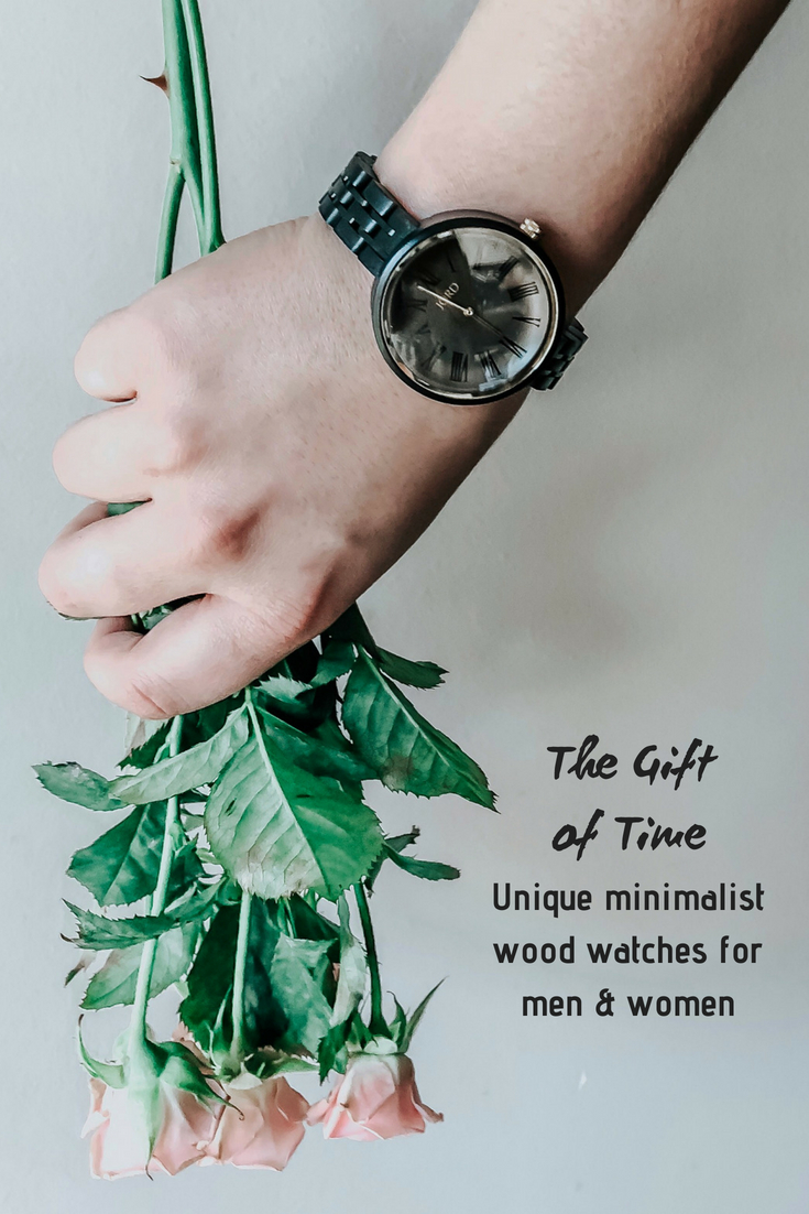 unique minimalist wood watch