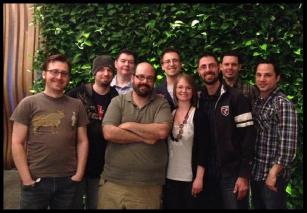 Left to Right: David Mann, Steve Niewinski, Mark Sieka, Carlos Breban, Erik Novak, Sati Hartigan,  Tony Prohl(ME) , Gil Medina, Nick Miulli