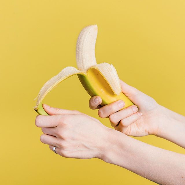 Create photos with a-peel at the studio with us. Do you see what we did there? It was a banana joke. I bet you're splitting at the sides. Photo by @christopheramat