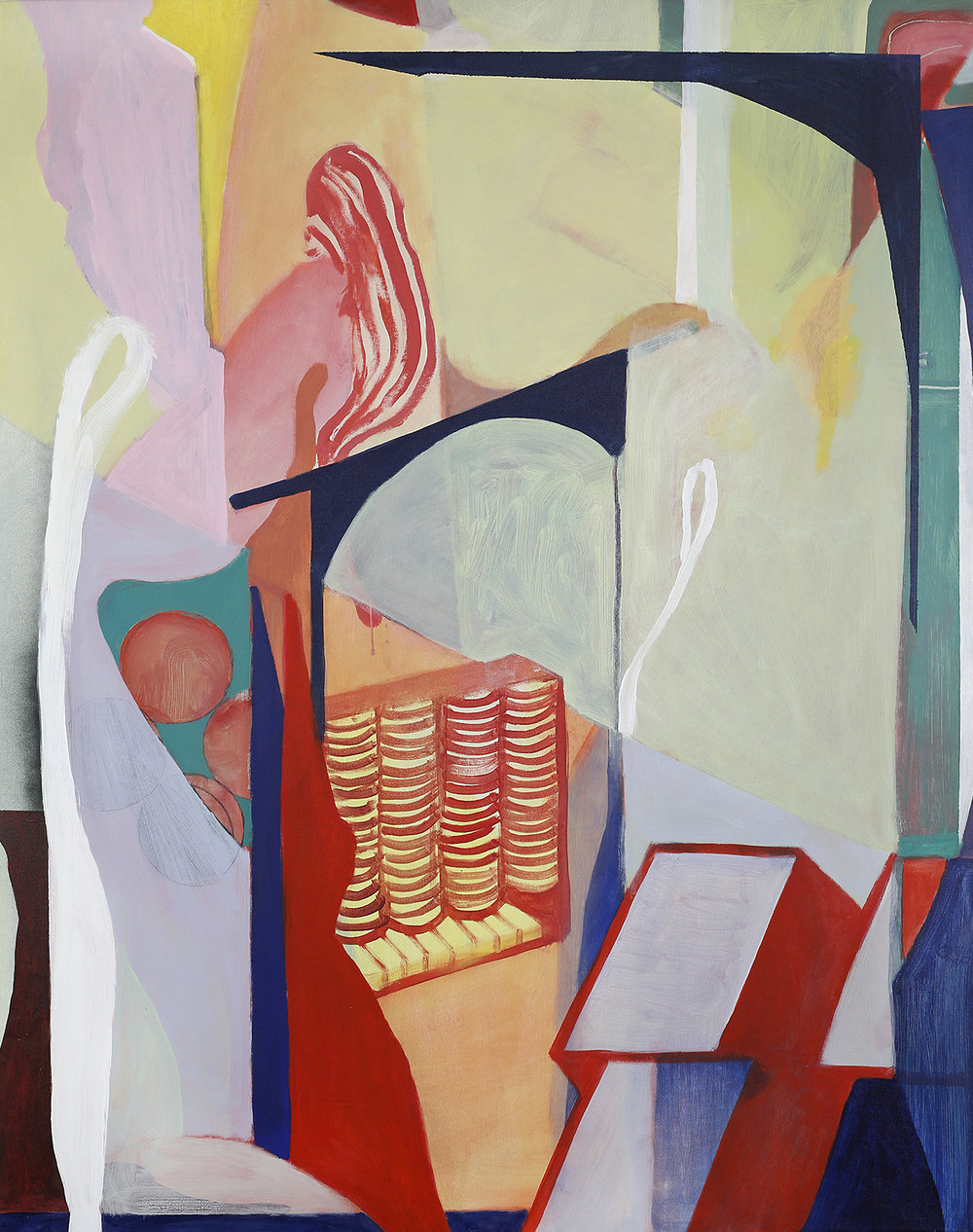Turrets and tendrils91x115cm.jpg