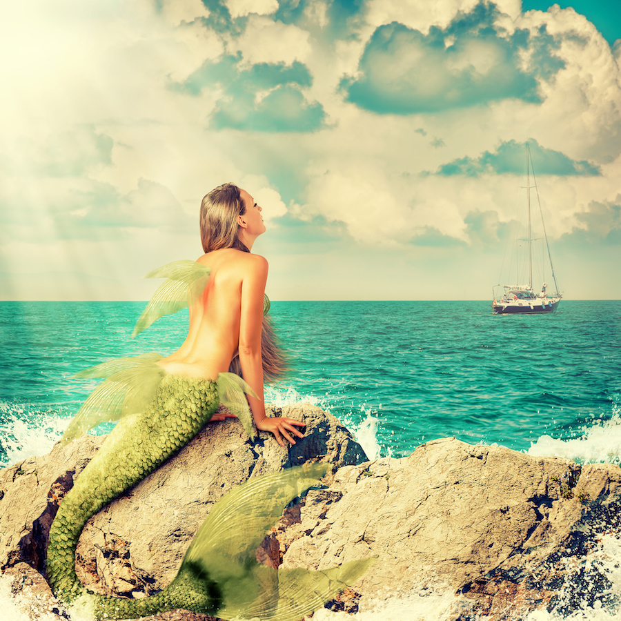 The siren's song is irresistible and draws the unwary sailor to crash against the rocks — in essence, killing themselves at her command