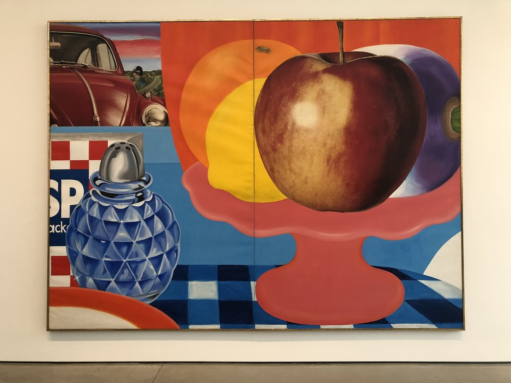Tom Wesselmann,  Still Life #29 , 1963, oil and collage on canvas, 108 × 144 inches