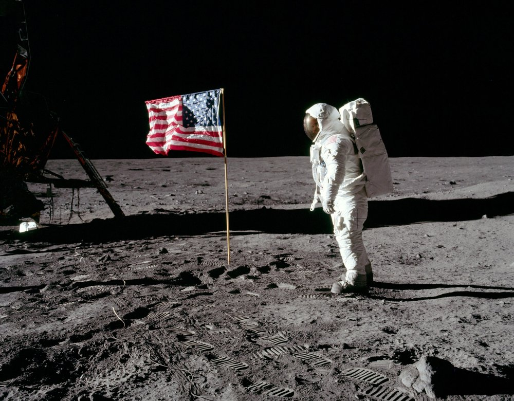 One small step for man, one giant leap for mankind. - -Neil Armstrong