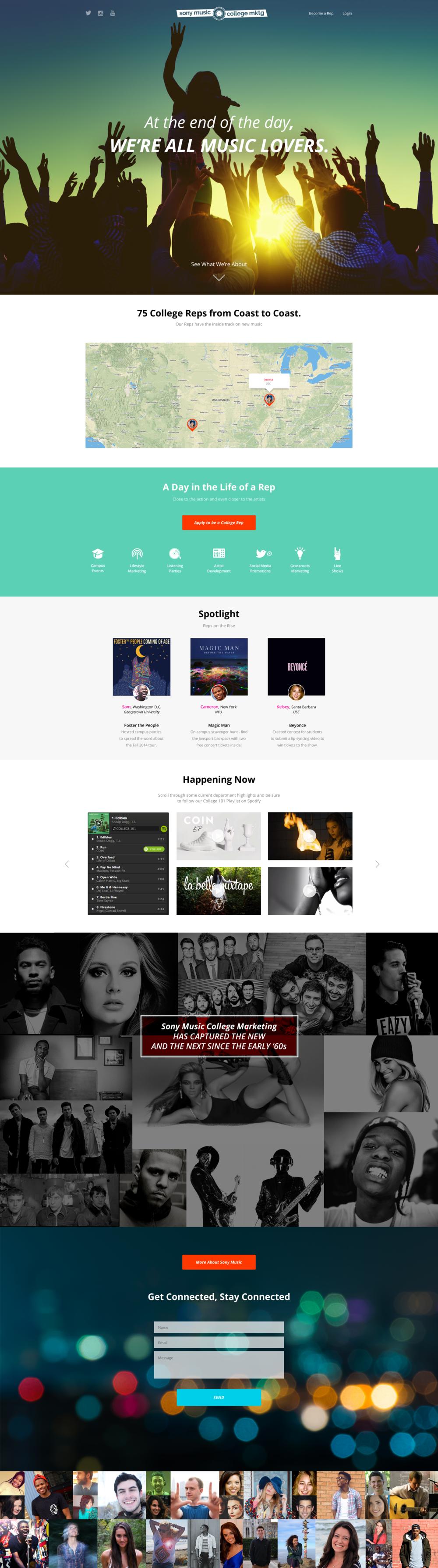 Emotif - web design