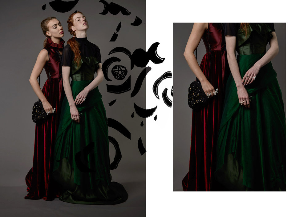 witchy woman - fashion design + creative direction + graphic design