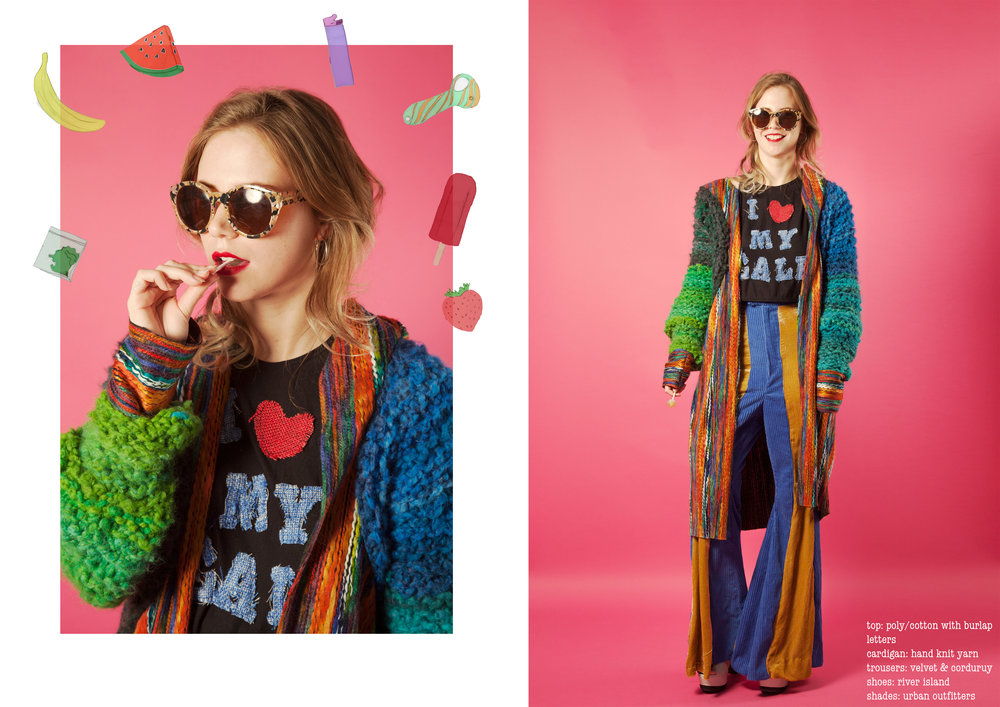 sweet and stoned - // fashion design + graphic design //