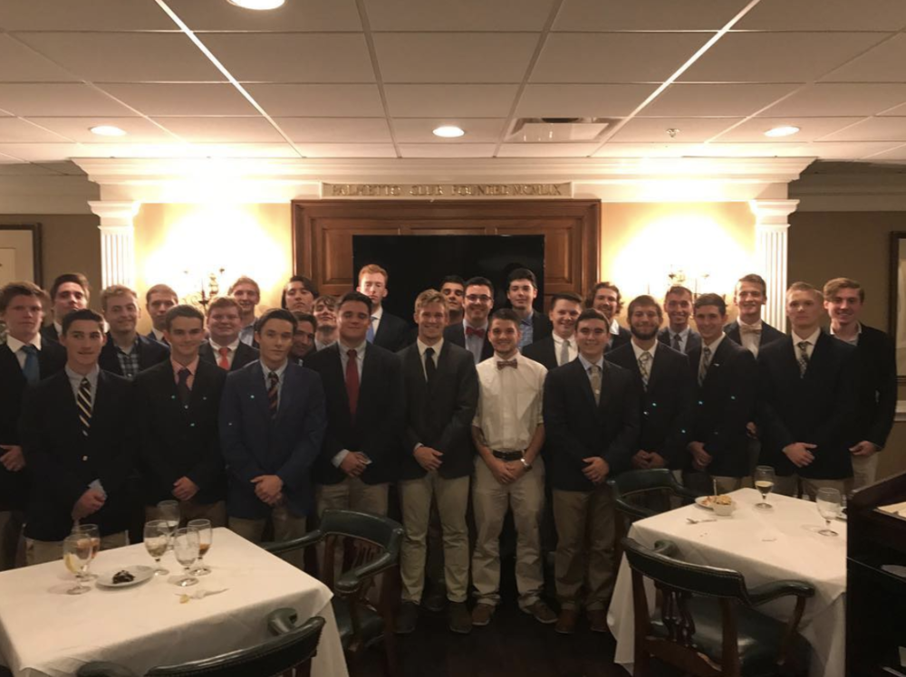 Fall Rush 2018 - 9/10/18Yesterday afternoon our Fall 2018 Associate Member class accepted their bids. We held a highly successful rush that brought in an outstanding group of men thanks to our VP of Recruitment, Brother Rice. Every member of Delta U put work and time into making this rush one of the best in our chapters history. More updates to follow as we approach initiation in the coming weeks.Δικαια Υποθηκη.