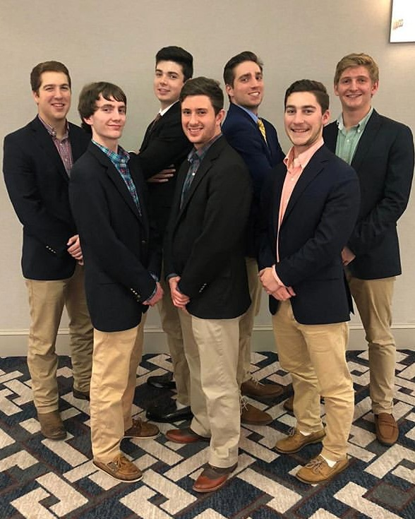 "Regional Leadership Academy - 2/10/19""The achievements of an organization are the results of the combined effort of each individual.""-Vince Lombardi7 out of our 8 executive board members attended the annual Delta Upsilon IHQ Regional Leadership Academy this weekend in Atlanta, GA. The brothers learned invaluable skills involving chapter leadership, development, loss prevention, and finance to name a few. The men returned to campus committed to better serving their brothers and their community as a whole.""Interacting with other DU chapters was my favorite part. Not only did we get to meet fellow brothers, but we got to share our fraternity experiences and use that insight to improve our own chapters""-Andrew Brancato, VP of Finance Δικαια Υποθηκη."
